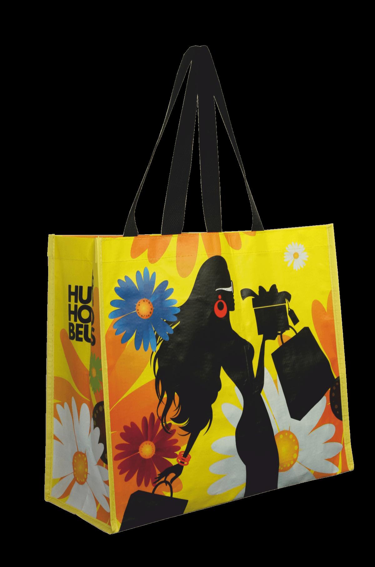 ea0e9a59faa Shopper Huishoudbeurs Geel | UTS Bags - Beurstas met Logo