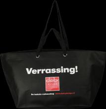 d71a00f0456 #125.106. Huge Bag Daily. Trapos Shopper John Frieda Pink PP Non Woven