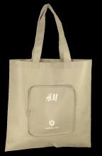 Opvouwtasje met Rits – H&M