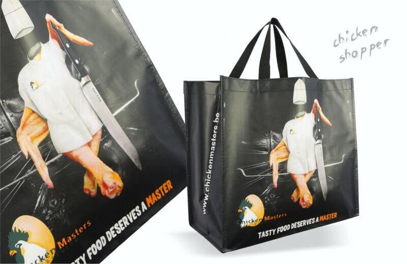 a4657231d7a Shopper Chicken | UTS Bags - Bedrukte Promotietassen voor Beurzen