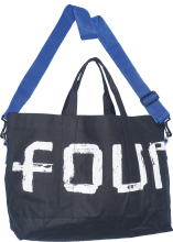 Canvas tas FOUR